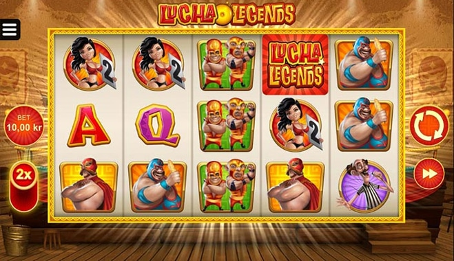 Lucha Legends Slot Game