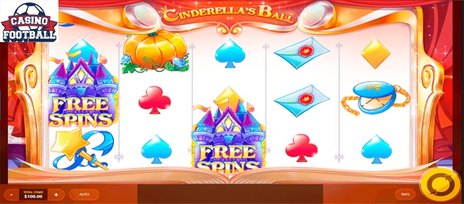 cinderella's slot game