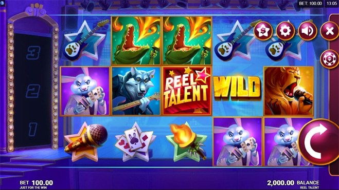 Reel Talent Slot Game