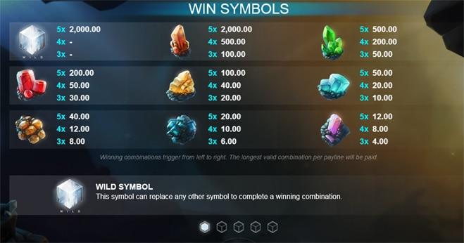 Winning symbols crystal rift