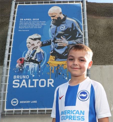 Maskot Klub Sepak Bola Brighton
