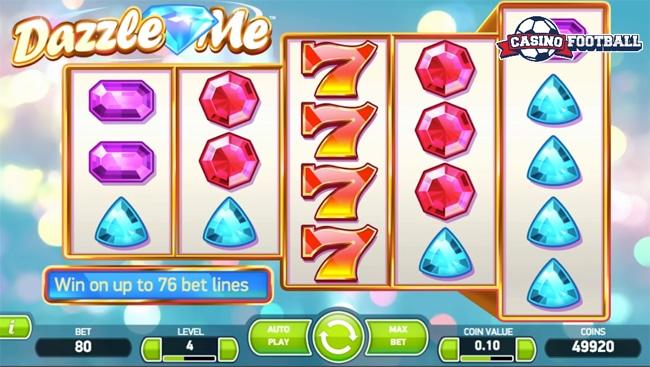Dazzle me slot game