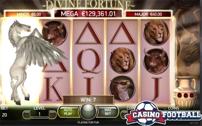 divine fortune mobile slot game