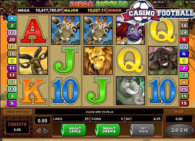 mega moolah casino slot