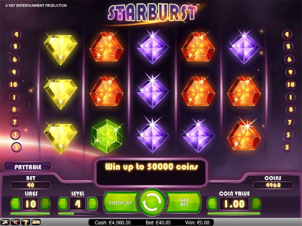starburst slot game image