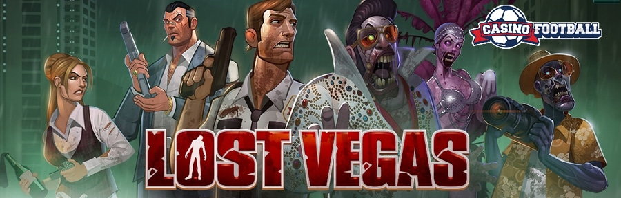 Lost Vegas Slot Game Image