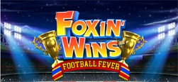 foxin wins football fever slot game
